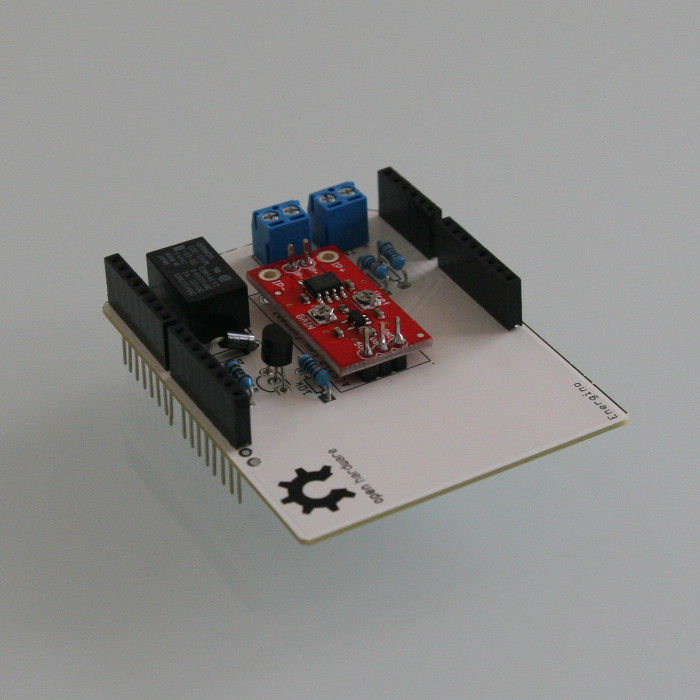 Arduino-based energy consumption monitoring shield