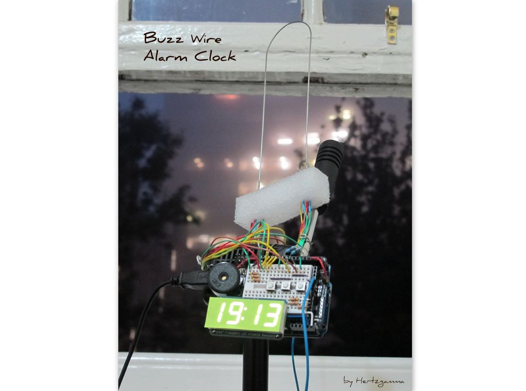 Buzz Wire Alarm Clock