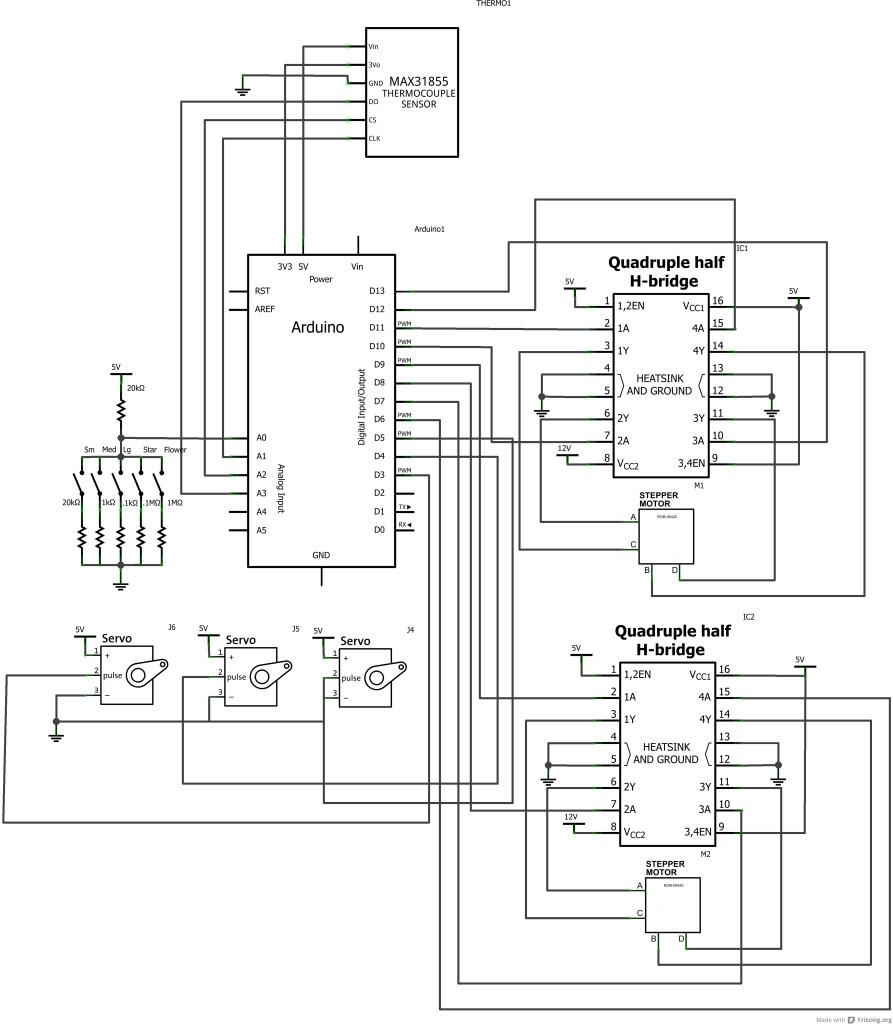 Chur-Robot schematic