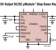 Complete 5A step-down Regulator