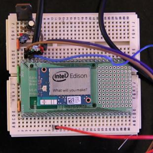 Custom DIY Intel Edison Breakout Board