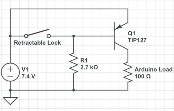 DIY GPS Tracked Bike Lock using Arduino diagram