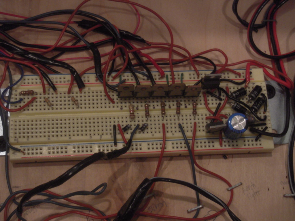 Design of small scale smart home system circuit