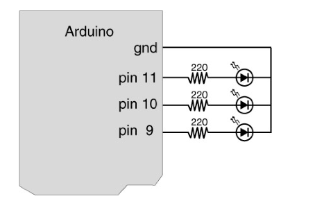 Digital I/O with Arduino Boards circuit