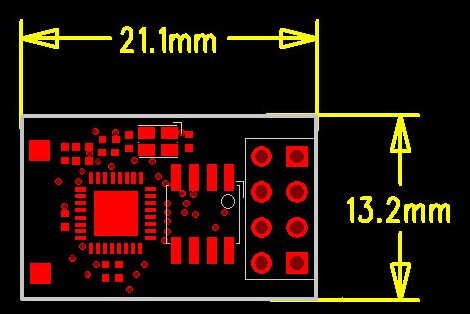 Esp8266 PCB WiFi Serial Transceiver Module