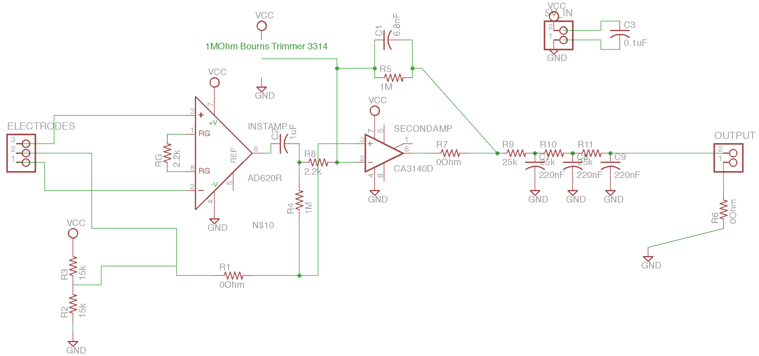 FabECG-a-simple-electrocardiogram-board-schematic Arduino Eagle Schematic on