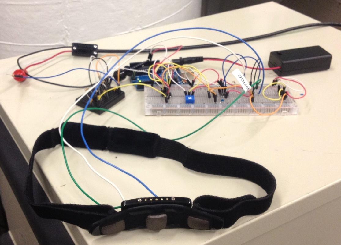 FabECG a simple electrocardiogram board