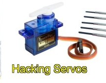 Hack a TowerPro Micro Servo to Spin 360 / Continuous Rotation