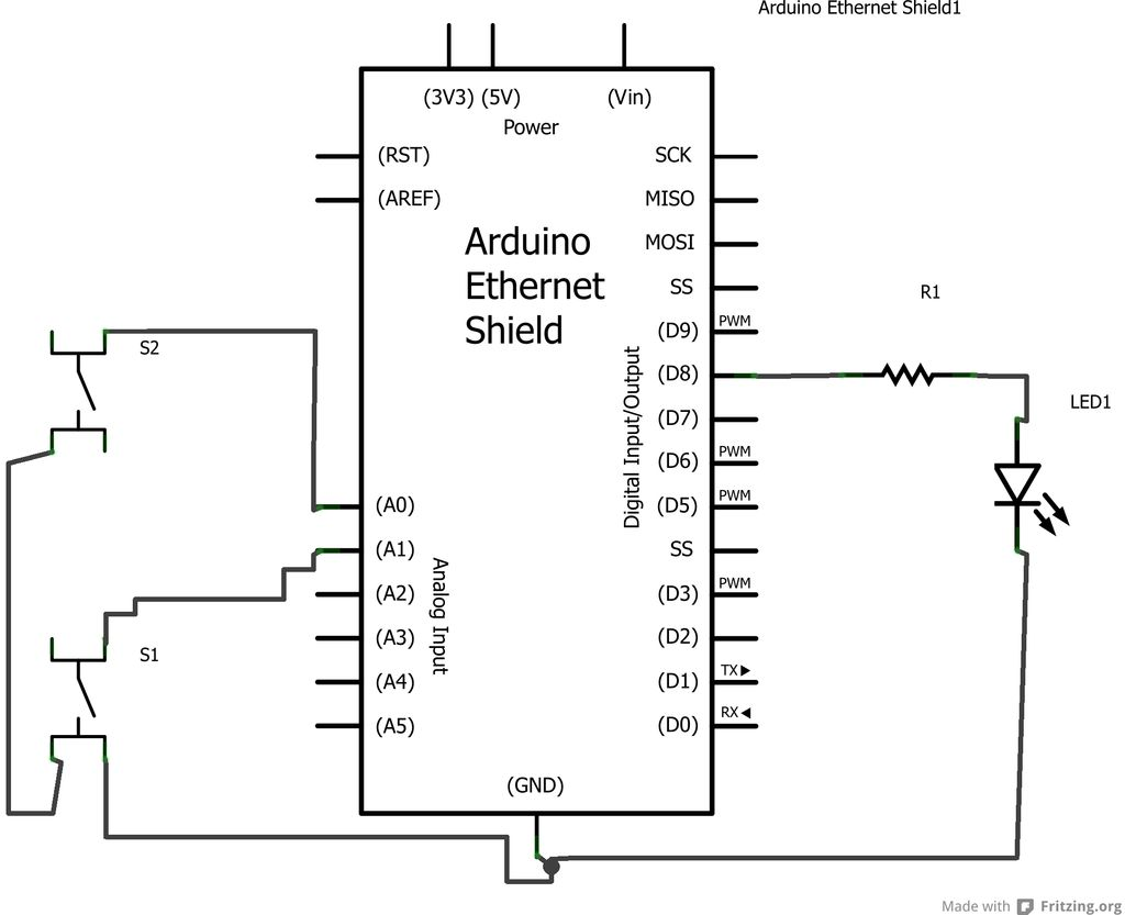 Internet Devices for Home Automation schematic