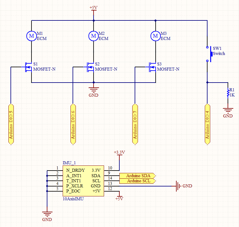 Intuitive Vibrotactile Feedback Educational Feedback Devices circuit