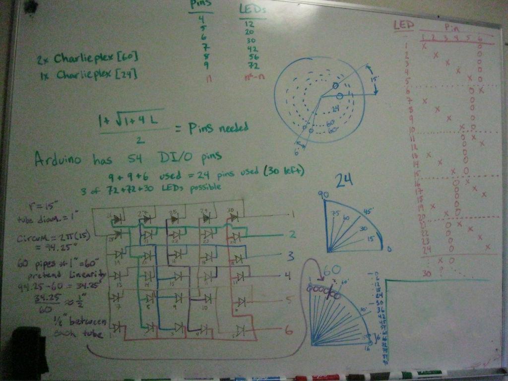 LED Clock circuit