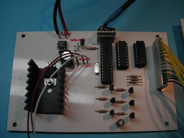 LED display Over Temperature Alarm