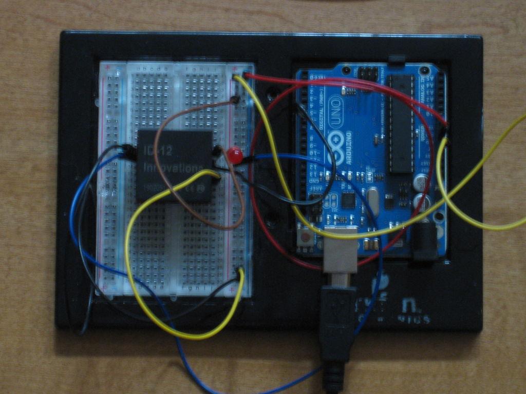 MP3 Playing RFID Thing circuit