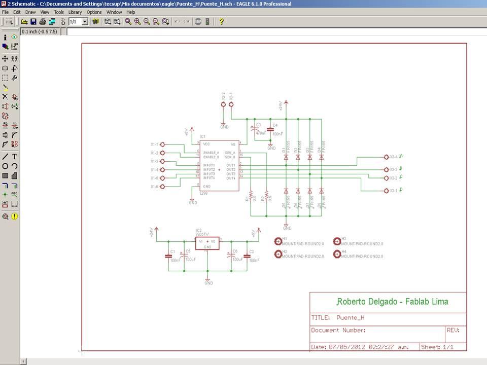 Machine Design schematic