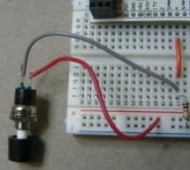 Momentary Switch as Digital Sensor