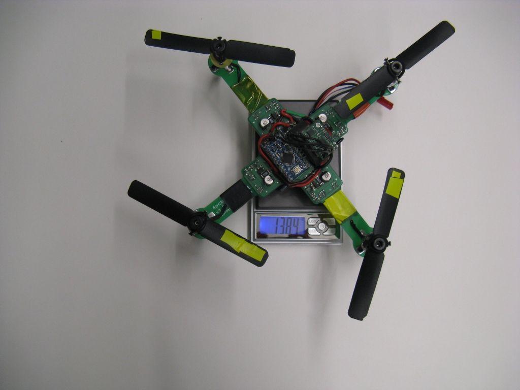 PCB Quadrotor (Brushless)