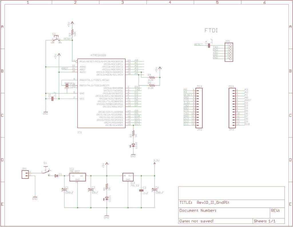 Palm Arduino V3 schematic