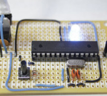 Perfboard Hackduino (Arduino-compatible circuit)