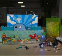 Sea Fun – A Live Paper Toy By Basic Electronic Modules