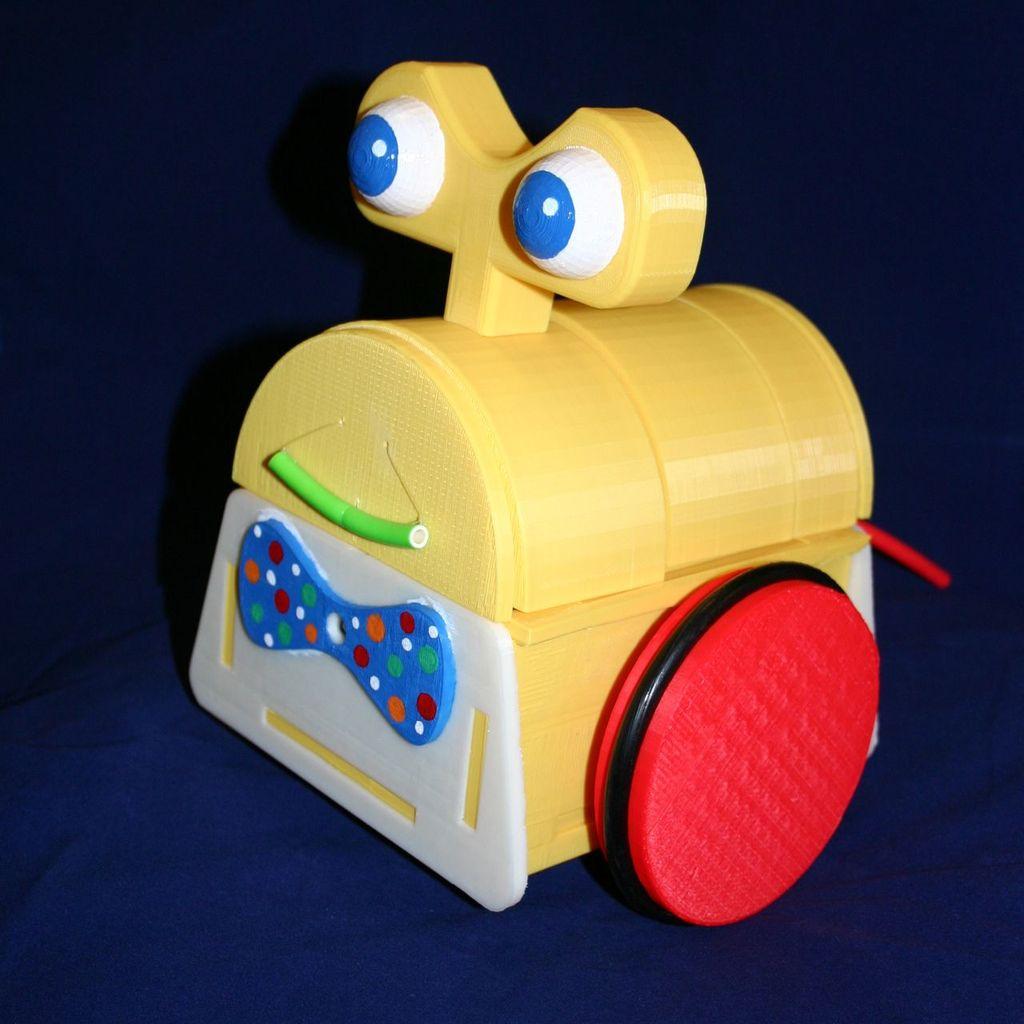 Sensor Less 3d Printed Robot