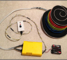 EL Wire Hat: Sequenced and Sound Activated with Remote Control
