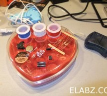 Spell out affection for your Valentine with chocolates, LEDs, Attiny13 and Arduino IDE