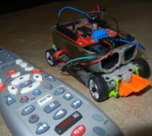 TV Remote Controlled Car