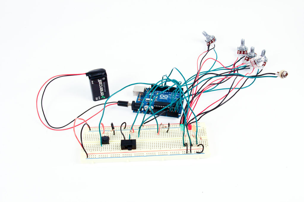 The Arduino Synthesizer circuit