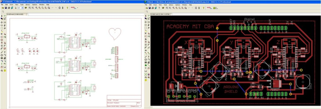 The Pick and Place Machine for Surface Mount Devices schematic