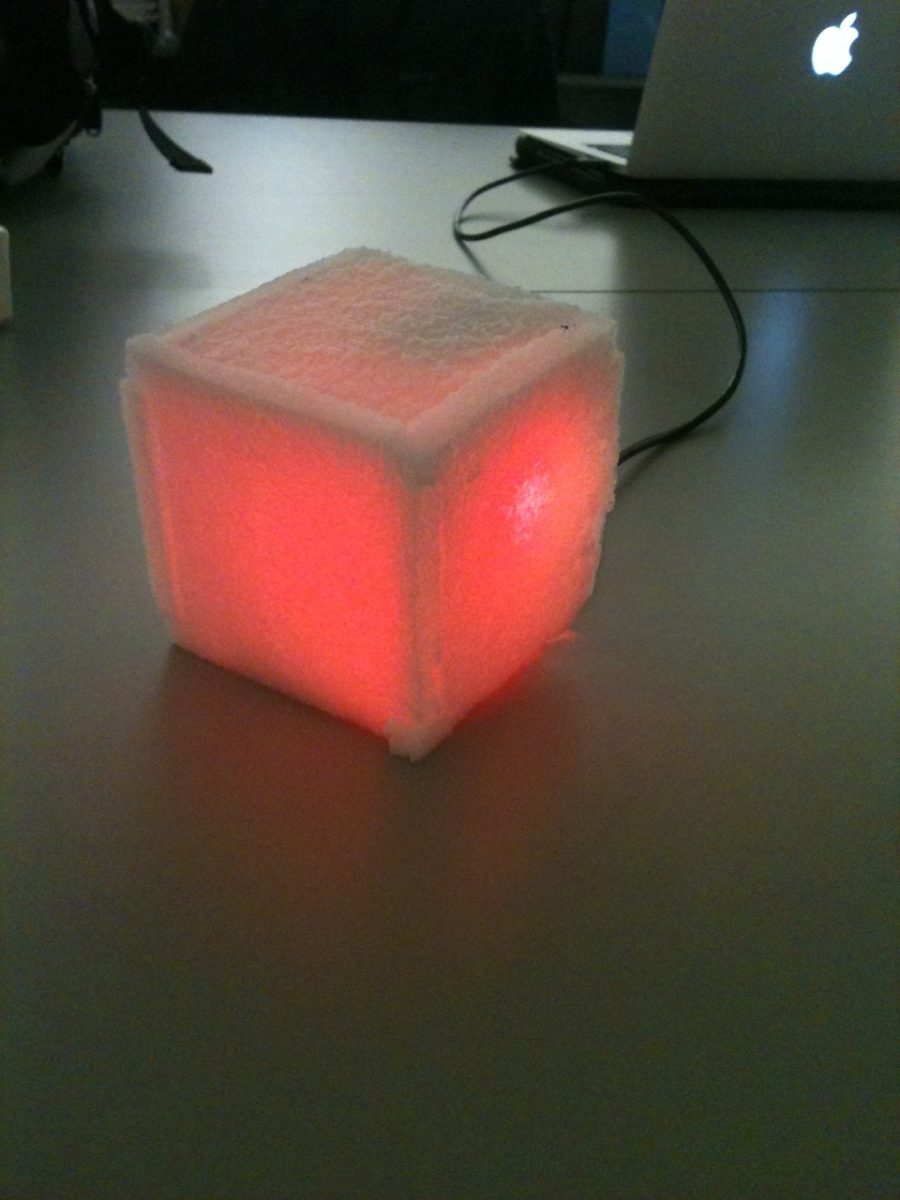 The Wondrous Weather Cube
