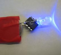 Throwduino Basic – Light-Sensing Flashing Throwie