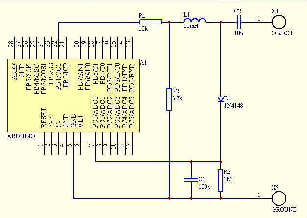Touche for Arduino circuit