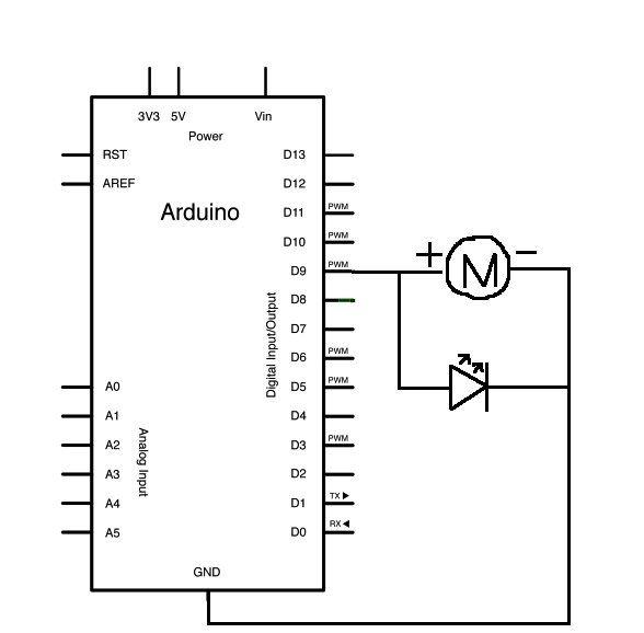 Vibration Foam Speaker schematic