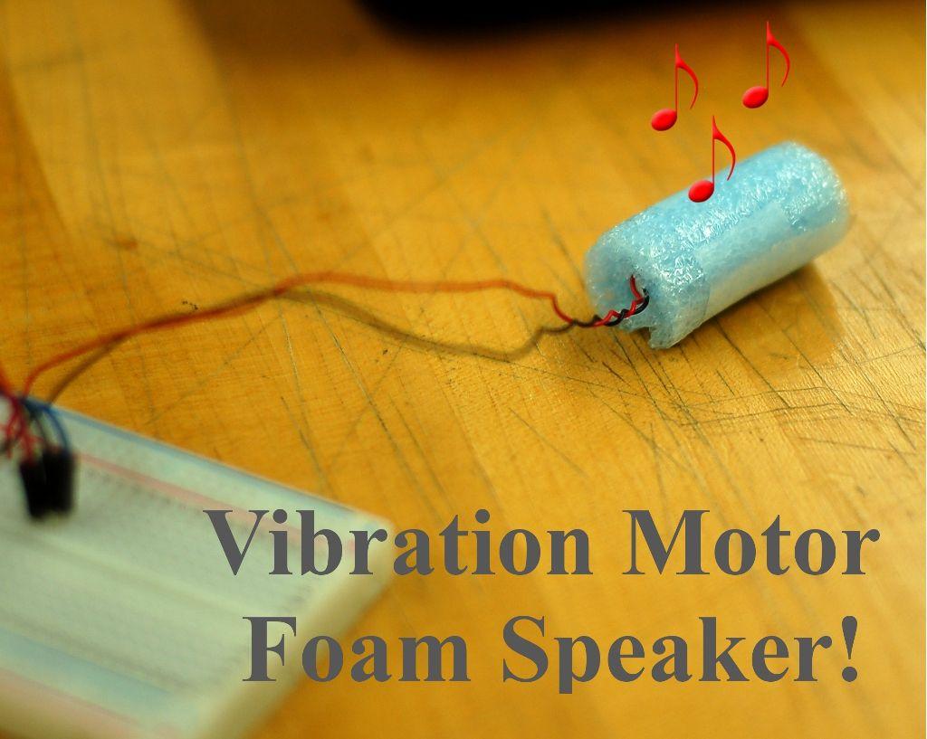 Vibration Foam Speaker