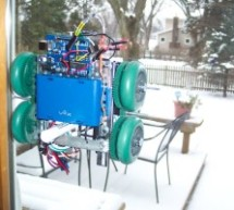 Window Painting Robot (arduino, processing, accelerometer)