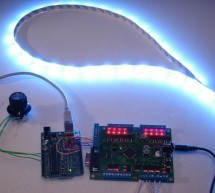 Control Ikea Dioder LED Strip with Arduino + 16X PWM LED Fader Board using arduino