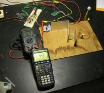 A simple DIY spectrophotometer using raduino