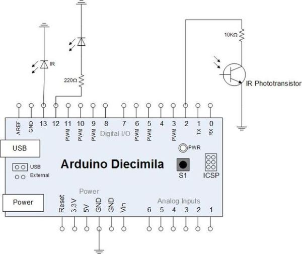 Arduino-Based Optical Tachometer