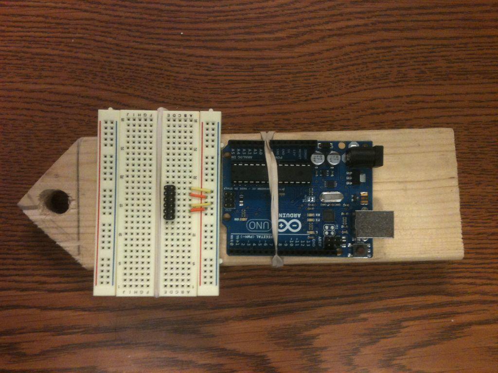 Arduino Drawbot circuit