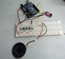 Arduino Wind Instrument using arduino