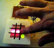 Arduino and Touchpad Tic Tac Toe using arduino