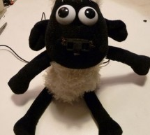 Shaun The Noisy Sheep using arduino