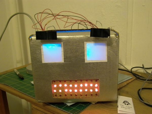 Build an Arduino-powered talking robot head
