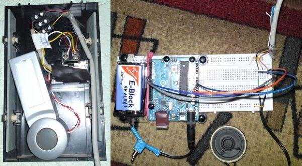 Doorbell to Arduino