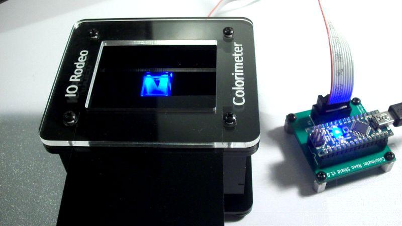 Educational colorimeter kit