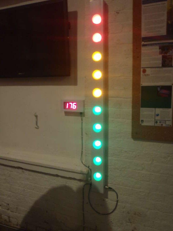 Giant LED bar graph