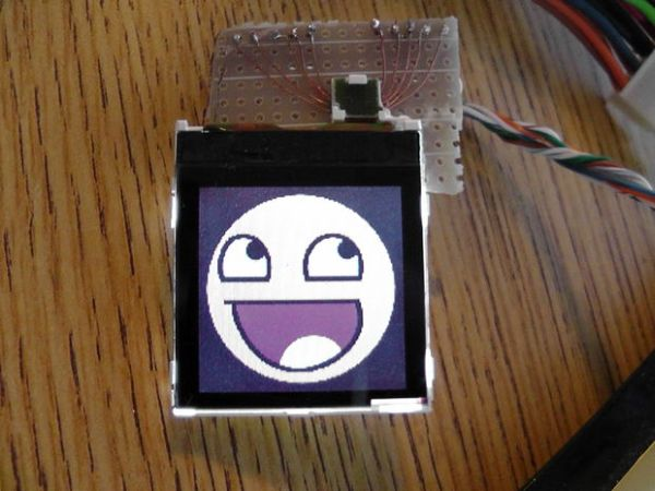How To Use a Nokia Color LCD!