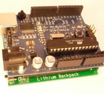 How to Install the Arduino to the Lithium Backpack using arduino