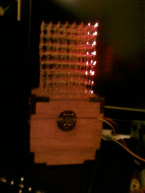 How to build an 8x8x8 LED cube and control it with an Arduino