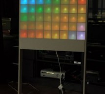Lampduino – an 8×8 RGB Floor Lamp using arduino